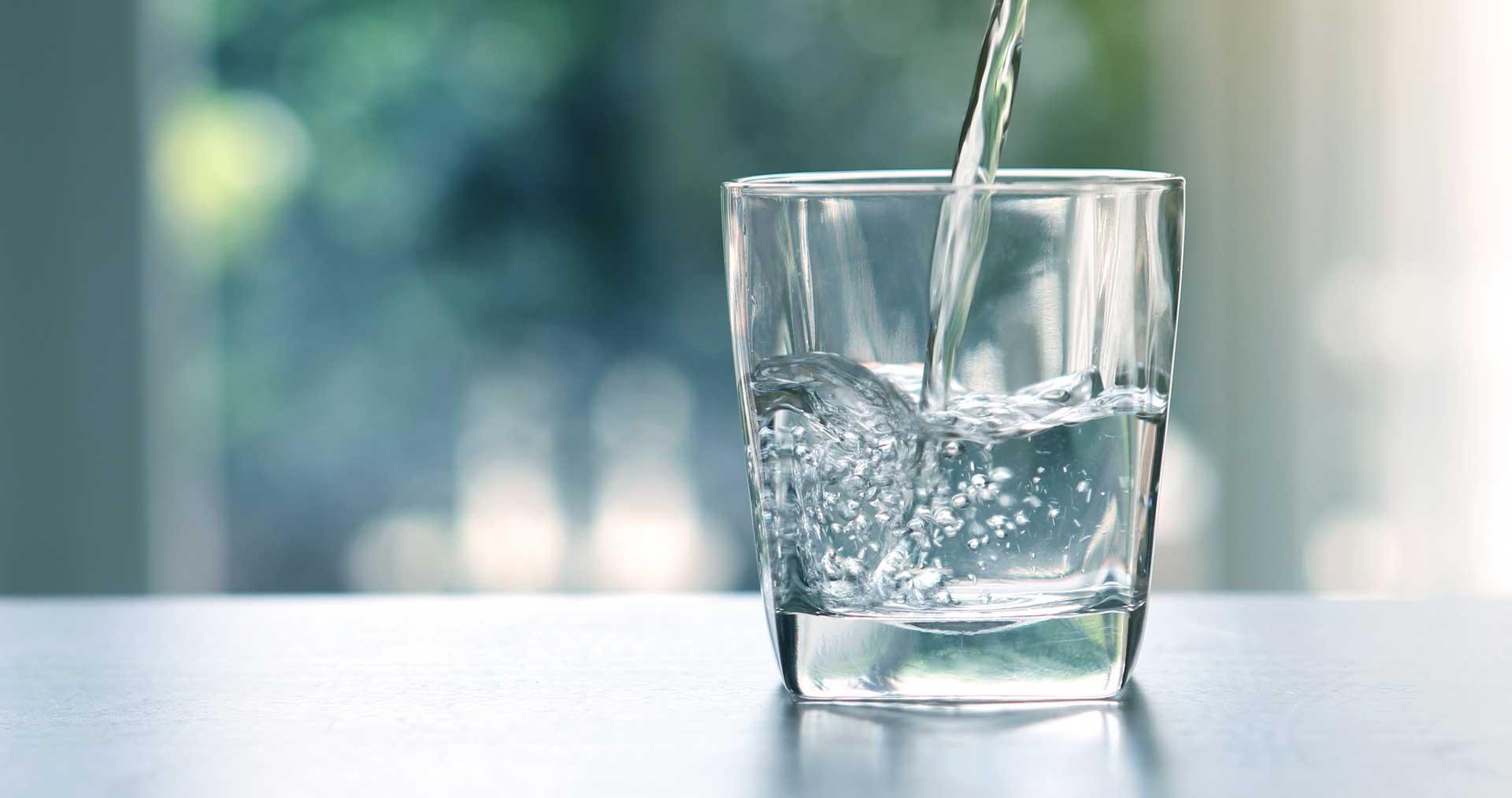 Kalkschutz und belebtes Wasser in einem